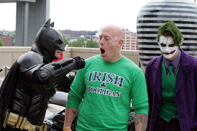 Harvey Gets Beat Up by Batman and the Joker