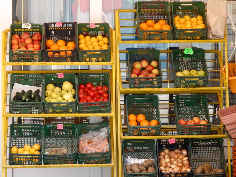 Fruits&Légumes au détail@Blagaj