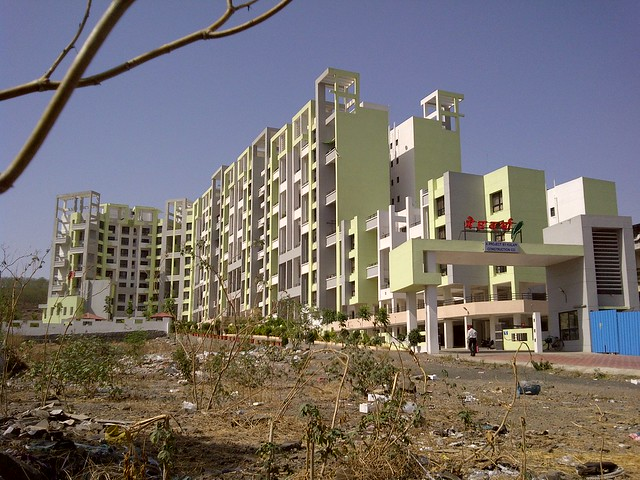 Meghvarsha Warje - near Sneha Corp's Homes, 1 BHK & 2 BHK Flats, behind Shell Petrol Pump, at Warje, Pune 411052