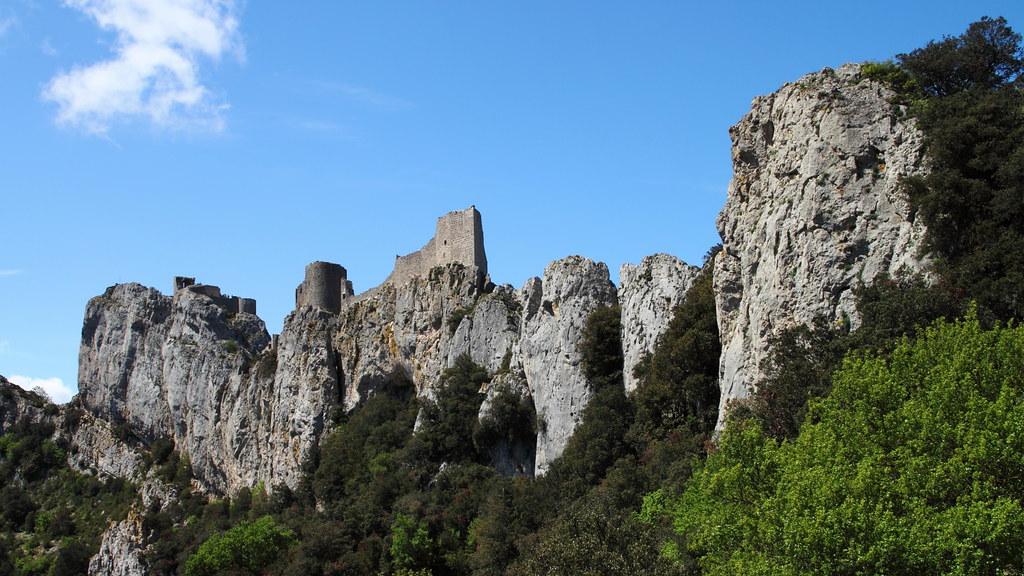 Colina castillo de Peyrepertuse