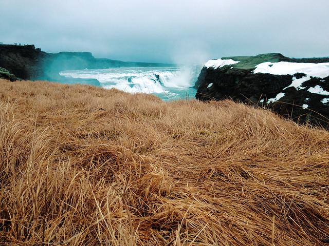 Gullfoss waterfall, Iceland - Flickr CC beansandgrapes