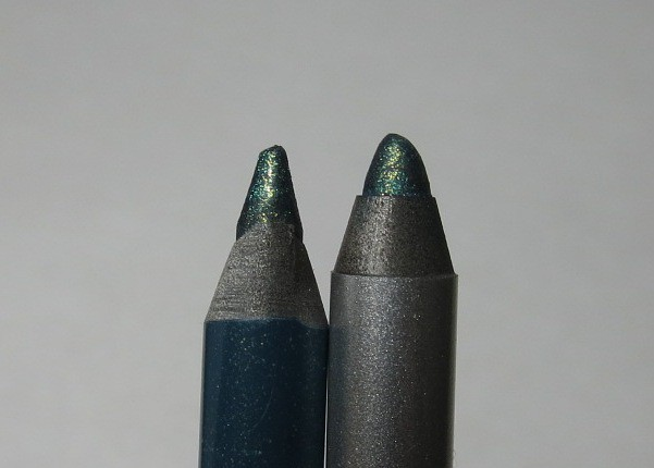 Urban Decay Junkie vs Revlon Emerald