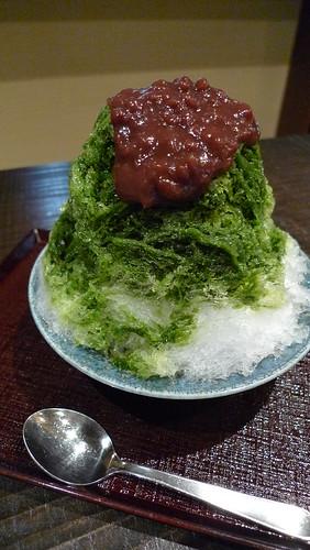浅草・福々まんじゅうのかき氷