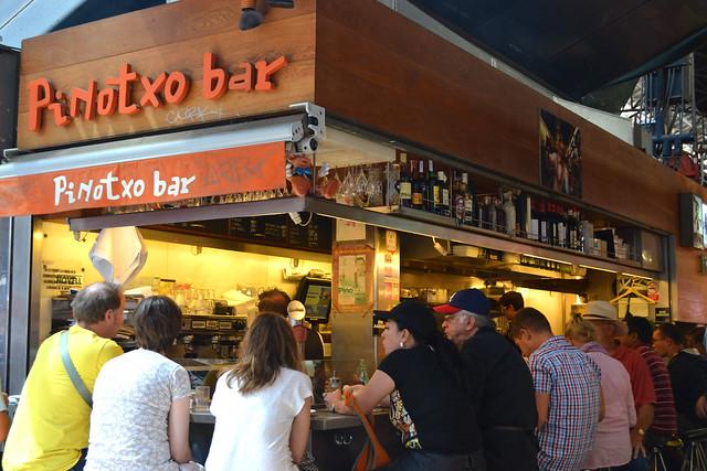 Pinotxo Bar,  La Boqueria Market, Barcelona