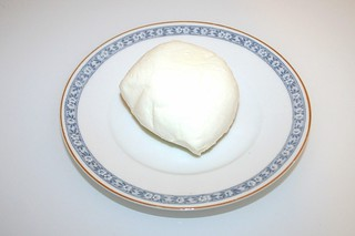 05  -Zutat Büffelmozzarella / Ingredient buffalo mozzarella