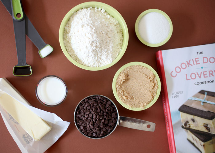 Cookie Dough Truffle Ingredients
