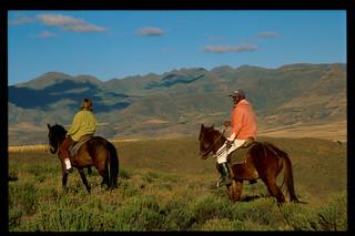 Pony Trekking from Malealea Lodge, Lesotho