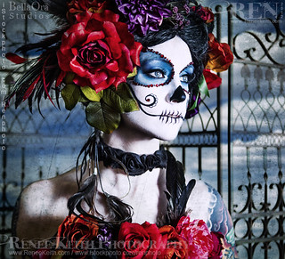 Sugar Skull - Makeup and Photography by Renee Keith by Ren (photo), on