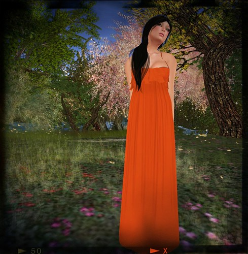 REMY -Voila MaxiDress in Citrus (free) by Cherokeeh Asteria