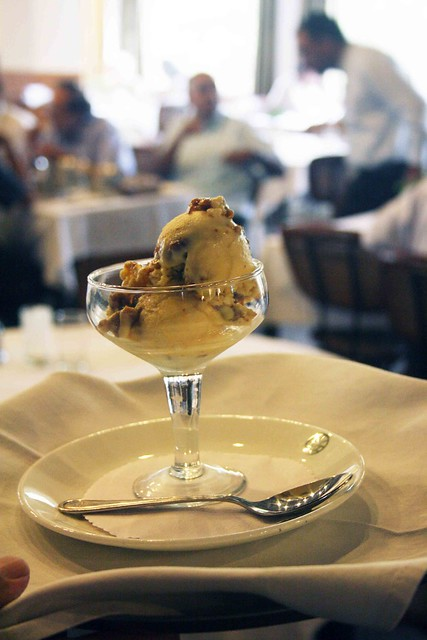 City Food – Honey & Fig Ice Cream, India International Centre