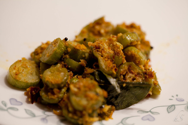 Thodekayi Palya (South Canara style)/ Tindora curry