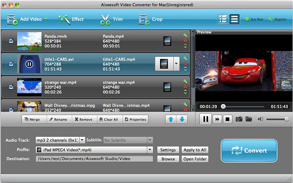 Easy ways to convert any videos on Mac with Aiseesoft Video Converter for Mac 7311550840_f8088db266_z