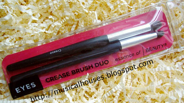essence of beauty crease brush duo new