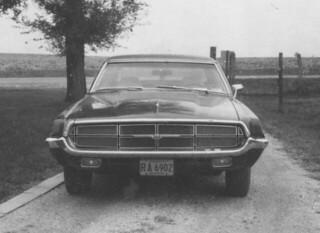 car,automobile, thunderbird