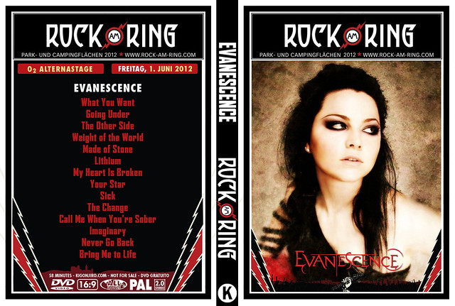 Evanescence - Rock Am Ring 2012