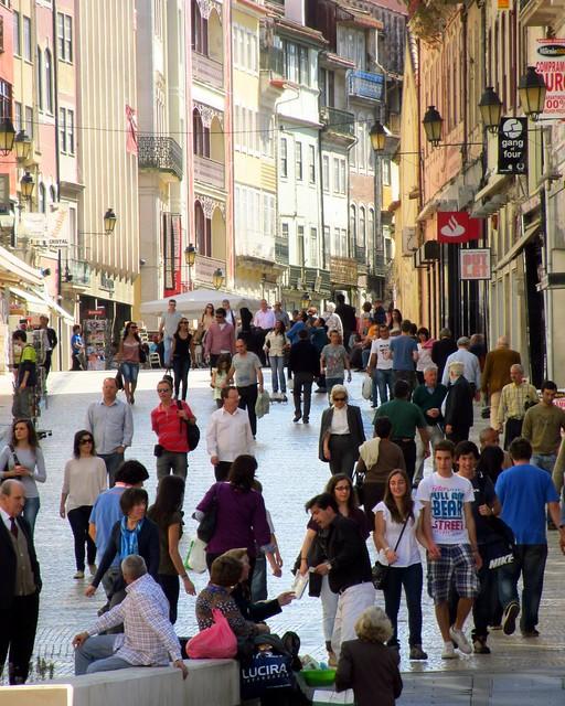 Praca do Commercio, Coimbra, Portugal
