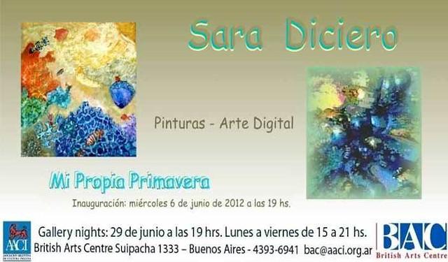 Mi propia primavera- Muestra plástica de Sara Diciero
