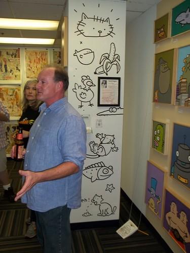 101_3746  David Hagen at Artomatic