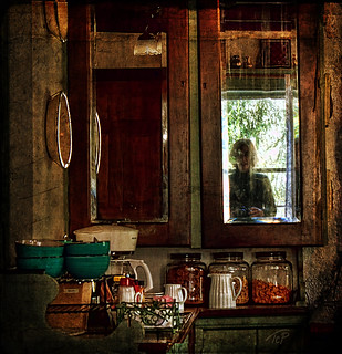 Mirror in the Kitchen