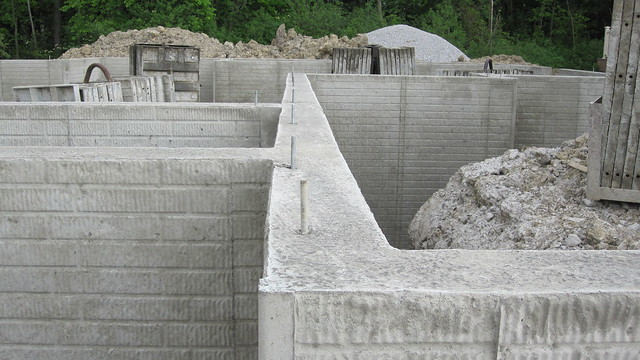 Poured Concrete Foundation Flickr Photo Sharing