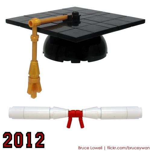 LEGO Graduation Cap