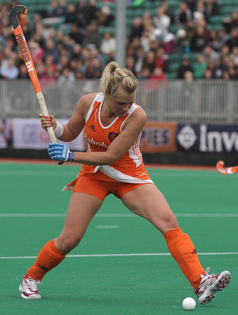 Field hockey upskirt picture that