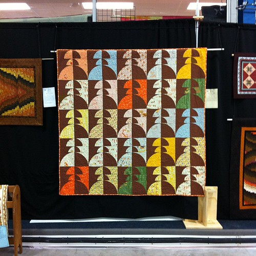 Mine at the quilt show!