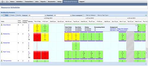 1-scheduler main screen