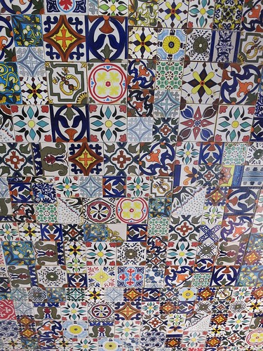 Tile Ceiling at Al Hamra at Marrakesh Resort, Huahin, Thailand