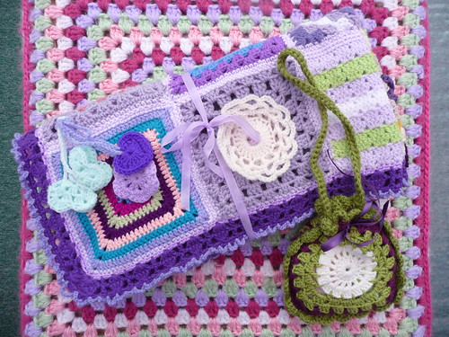 'Afternoon Tea' one of our Blankets has been sent out to a Lady with severe disabilities.