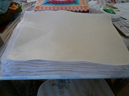 64 pieces of linen
