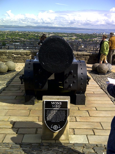 Mons Meg Cannon, Edinburgh Castle