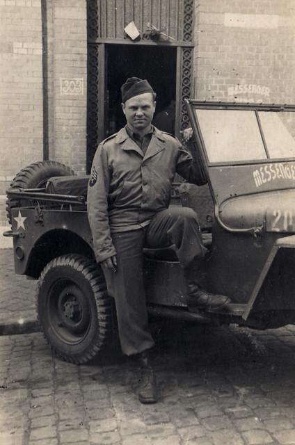Militaire américain de la compagnie Messenger