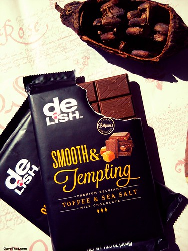 deLish Cocolate Bar Review and Gift Idea