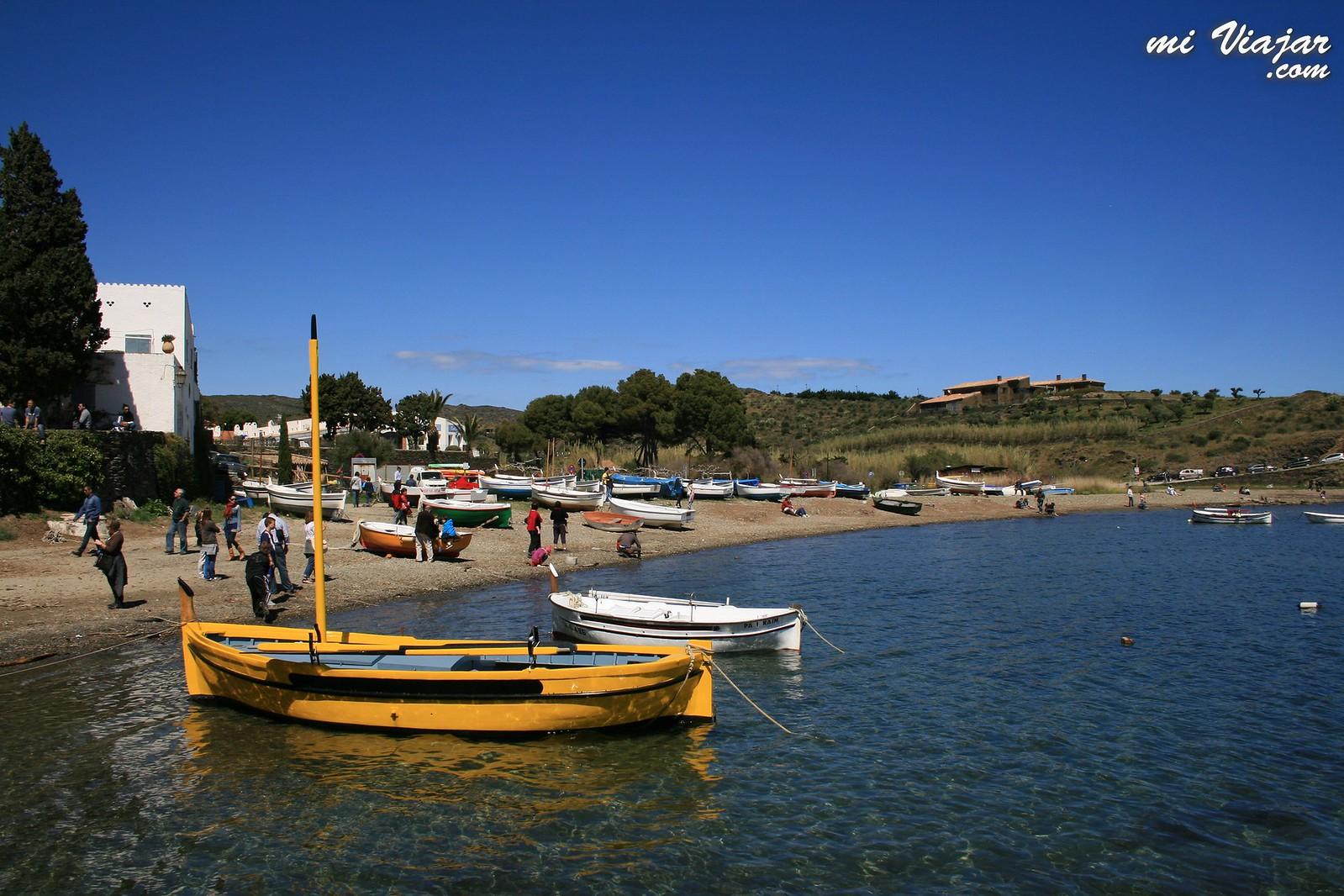 Pueblos costa Brava. Portlligat. Dalí