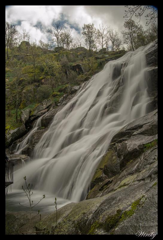 Cascada del Caozo con efecto seda