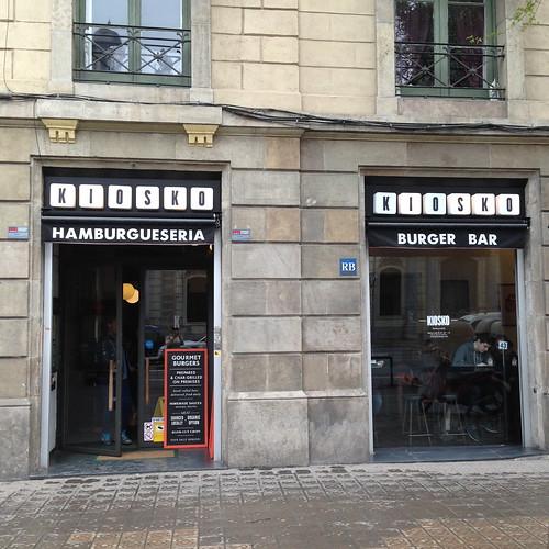 Kiosko Barcelona