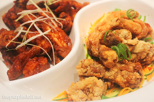 Fried Chicken and Buffalo Wings