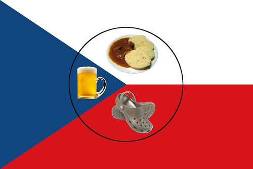 New flag of the Czech Republic