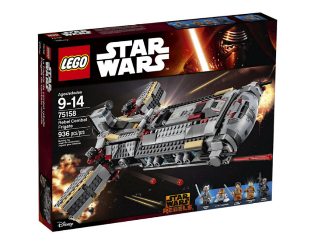 LEGO Star Wars 75158 Rebel Combat Frigate box