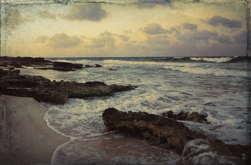 sunset beach mexico caribbean mx islamujeres quintanaroo
