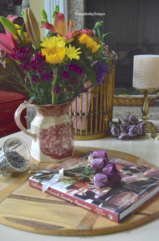 Transferware/Flowers - Housepitality Designs
