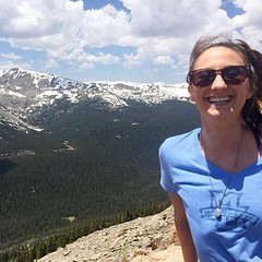 Where are you traveling over the holiday weekend? Wear your #Marquette gear and share your photos with us!  by @celefaivre at Rocky Mountain National Park