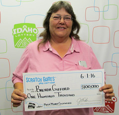 Brenda Gifford - $100,000 Mega Money Cashword