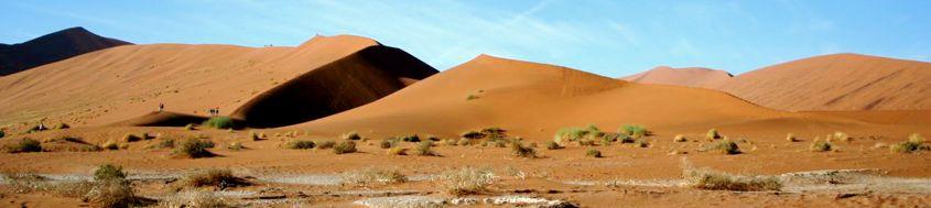 Komfort-Trekking Namibia.