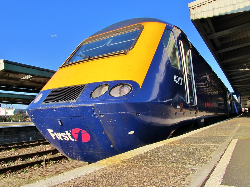 class 43 hst first great western Plymouth