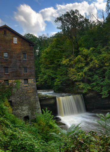 ohio mill waterfall nikon hdr millcreek youngstown ndfilter photomatix tonemapped lantermansmill ohiowaterfall nikond90 millcreekmetroparks lantermansfalls