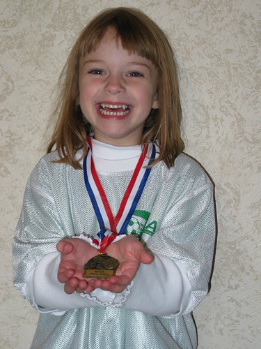 Megan's Gold Medal