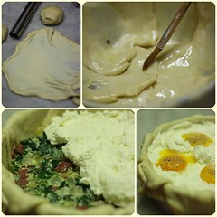 Step by step Torta Pasqualina