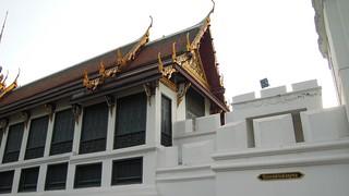 Image of  Grand Royal Palace  near  Bangkok. building architecture thailand nikon outdoor bangkok royal grand palace 2012 p300 sanamchaird